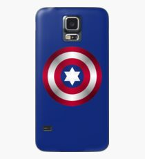 Truth & Justice (Jewish Cap Shield for DB) Case/Skin for Samsung Galaxy