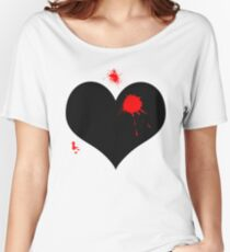 Bullet to the heart  Women's Relaxed Fit T-Shirt