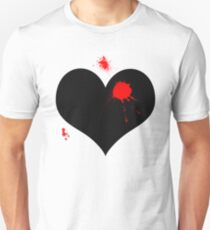 Bullet to the heart  Unisex T-Shirt
