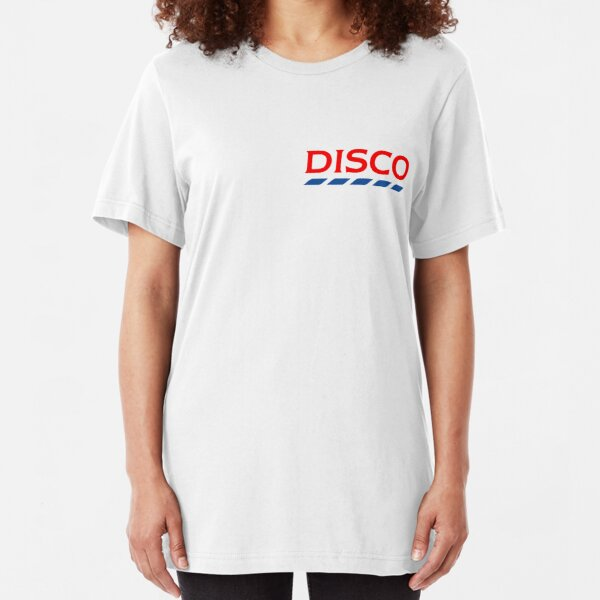 Disco Tesco Small Slim Fit T-Shirt