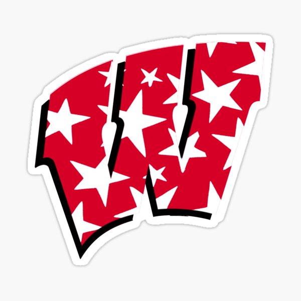 University of Wisconsin Stars  Sticker