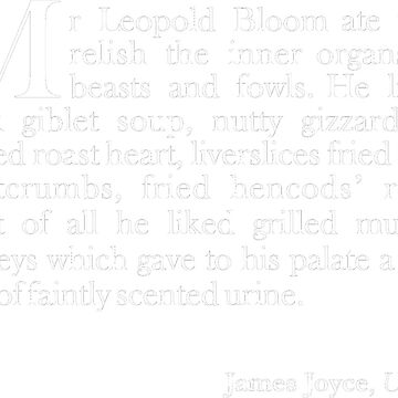 Leopold Bloom - for it is he by mbalax