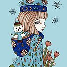 Snowman by Anita Inverarity