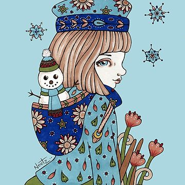 Snowman by AnitaInverarity