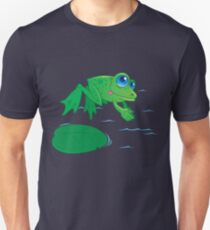 Diving Frog Unisex T-Shirt