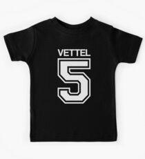 Sebastian Vettel 5 Kids Tee