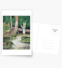 Fairy and Elves - Ida Rentoul Outhwaite Postcards