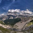 Im Karwendel by Stefan Trenker