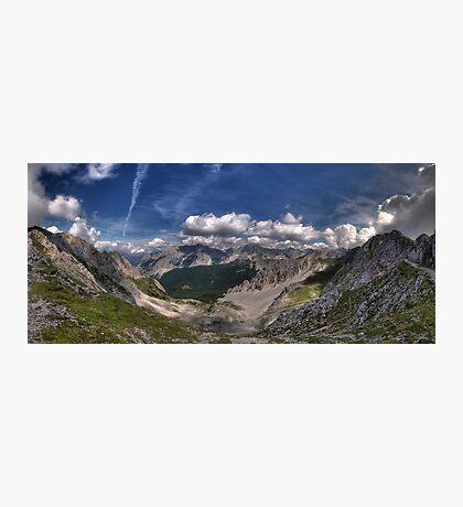 Im Karwendel Photographic Print