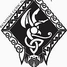 Reannag Teine Logo - Black by greyhand