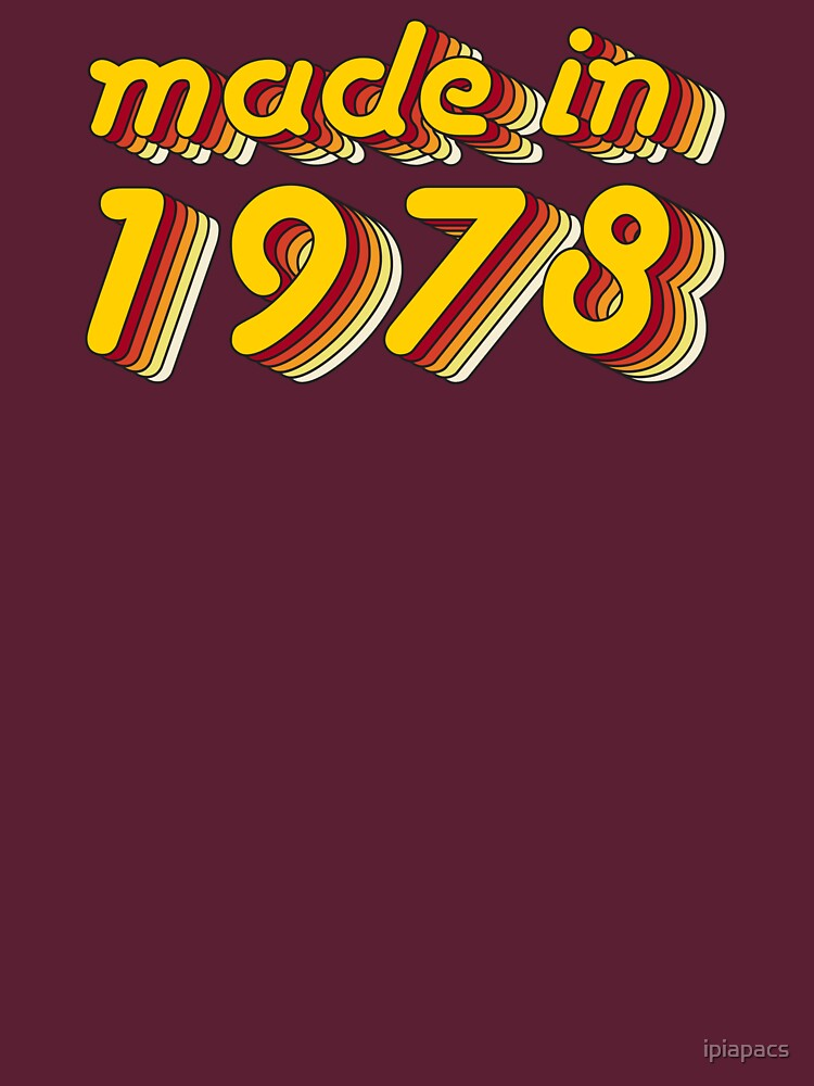 Made in 1978 (Yellow&Red) by ipiapacs