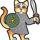 Viking Kitty by greyhand