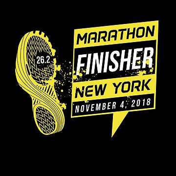 NYC New York City Marathon 2018 by oddduckshirts