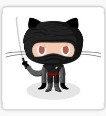 Dojocat Octocat Ninja Github Sticker