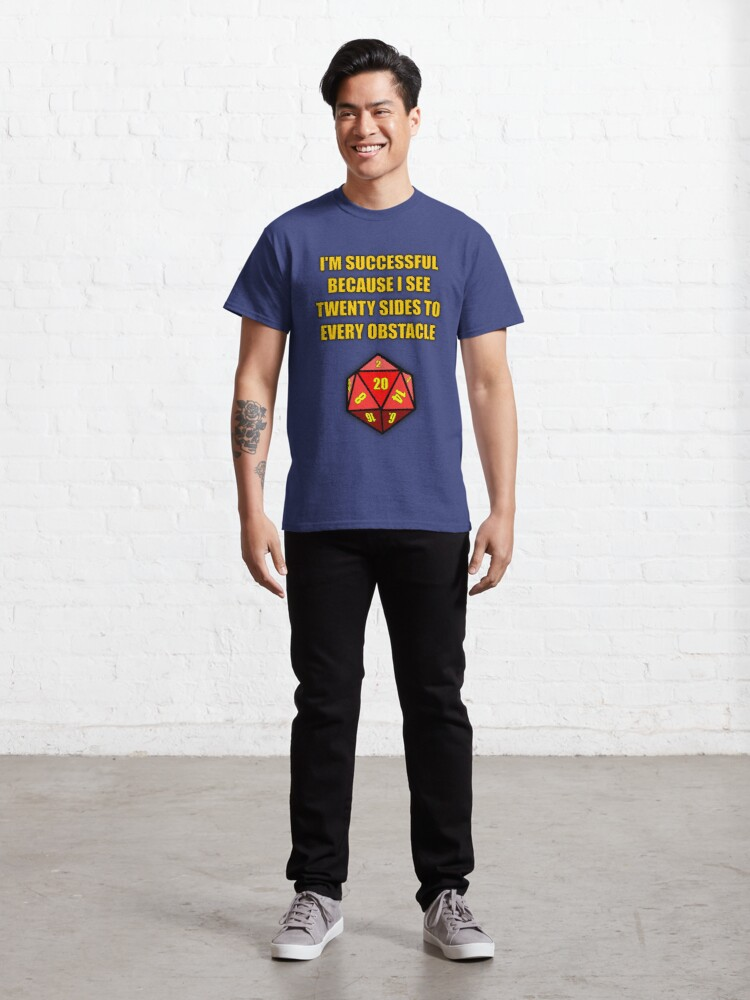 Alternate view of Critical Hit! Classic T-Shirt