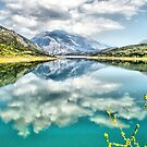 Clouds over the lake by George Kypreos