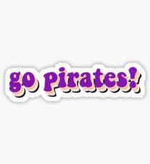 Écu Go Pirates! Sticker