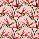 Bird of Paradise-Pink by Janine Lecour