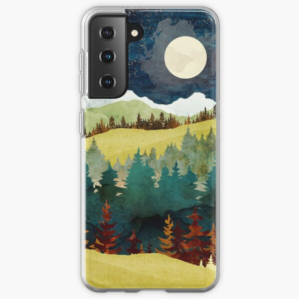 Autumn Moon Samsung Galaxy Soft Case
