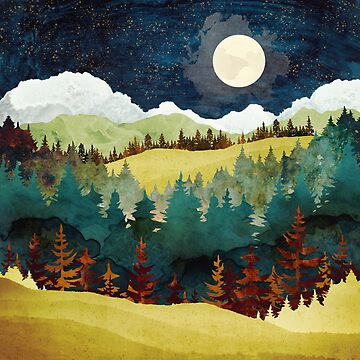 Autumn Moon by spacefrogdesign