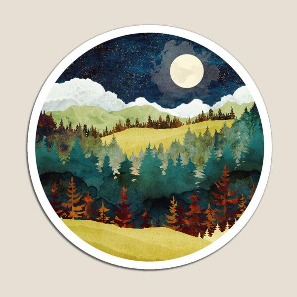 Autumn Moon Magnet