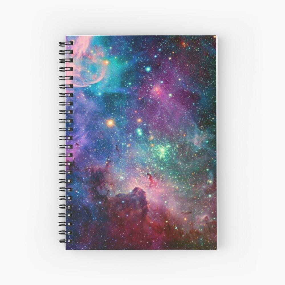 Galaxy Spiral Notebook