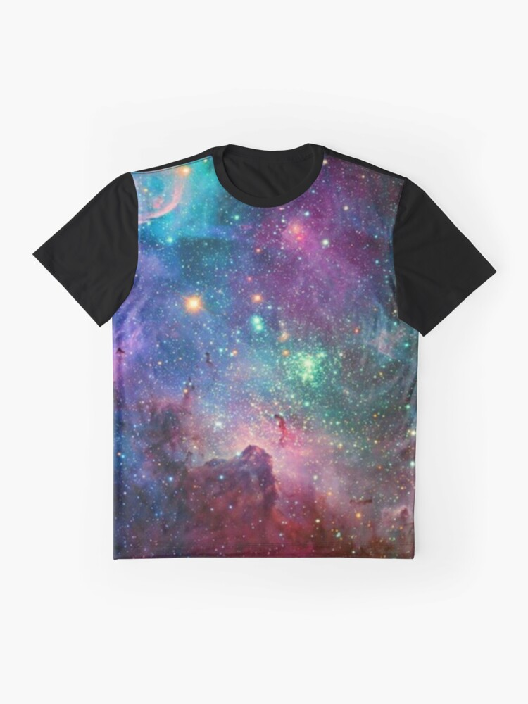 Alternate view of Galaxy Graphic T-Shirt