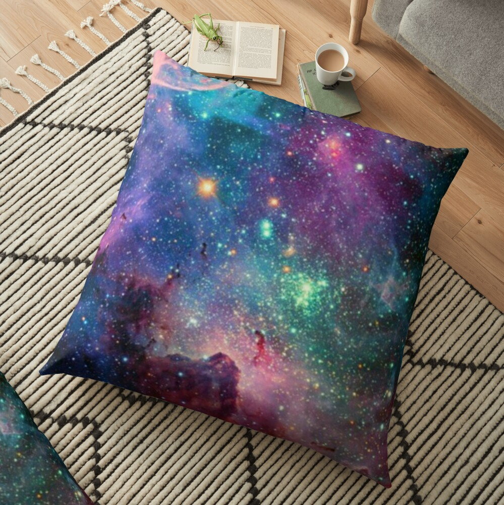 Galaxy Floor Pillow