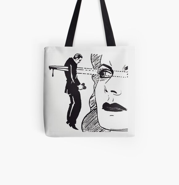 Eyeliner on Point All Over Print Tote Bag