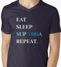 Sup Yoga Stand Up Paddle Sea Men's V-Neck T-Shirt