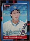 434 - Brad Komminsk by Foob's Baseball Cards
