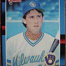 434 - Brad Komminsk by Foob's Baseball Cards