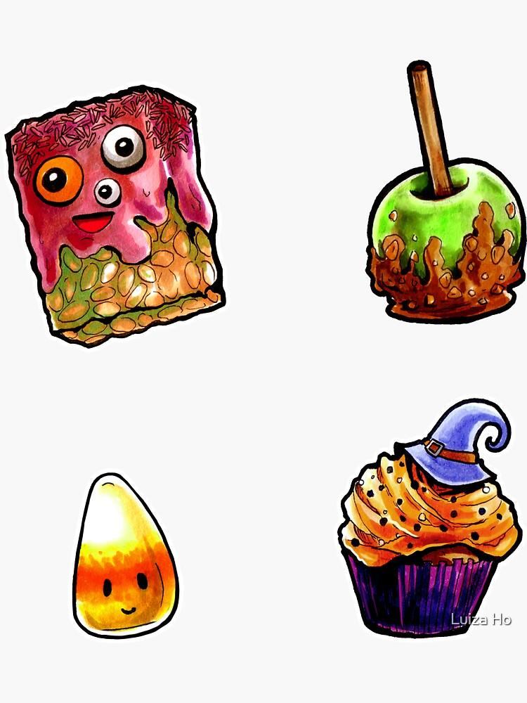 Halloween Treats - Mini Set #2 by teapotsandhats