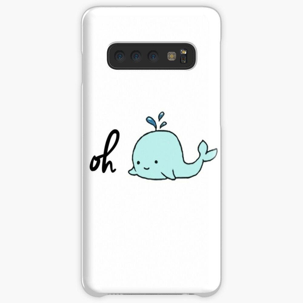 Oh Whale Case & Skin for Samsung Galaxy
