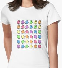 Rainbow Wugs! Women's Fitted T-Shirt