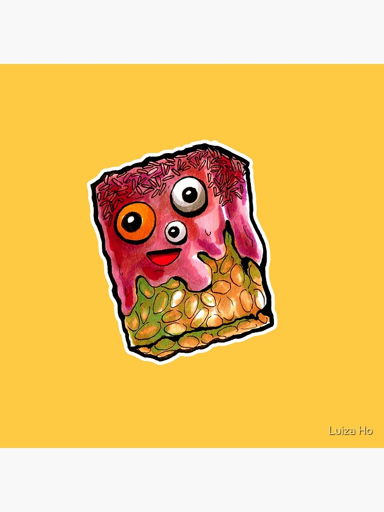 Crunchy Monster by teapotsandhats