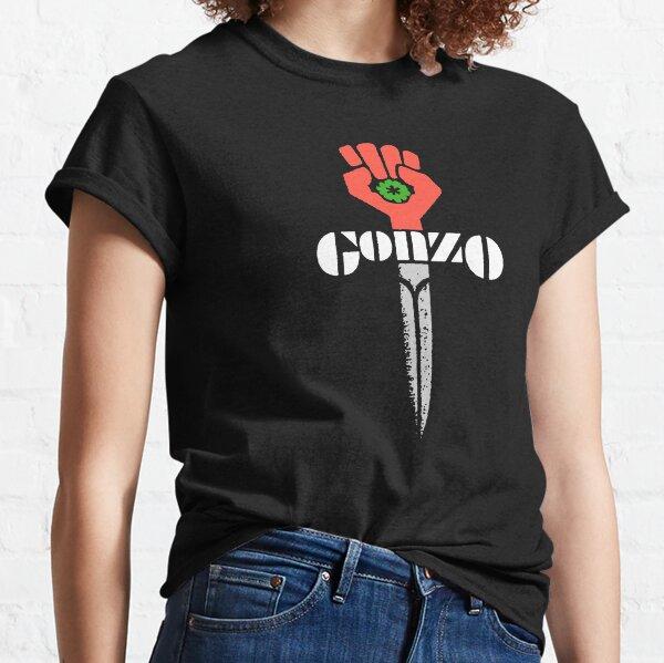 Hunter S Thompson Gonzo Shirt, Sticker, Hoodie, Mask Classic T-Shirt