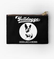 Bulldogge Boss Geschenkidee Täschchen