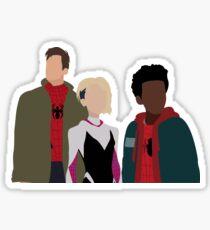 Spider Trio Sticker