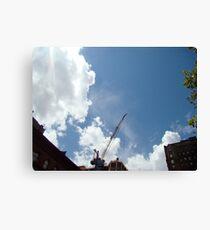 SKY CRANE Canvas Print