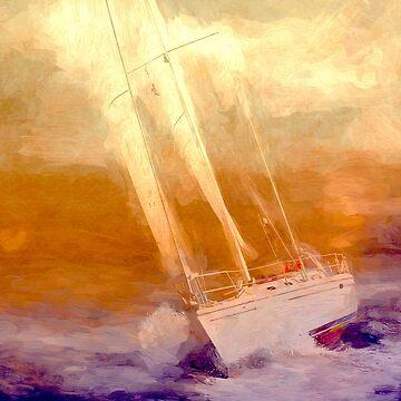 Boating  by linaji