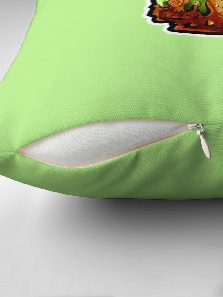Alternate view of Poison Apple Throw Pillow