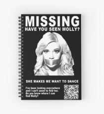 Have You Seen Molly? Spiral Notebook