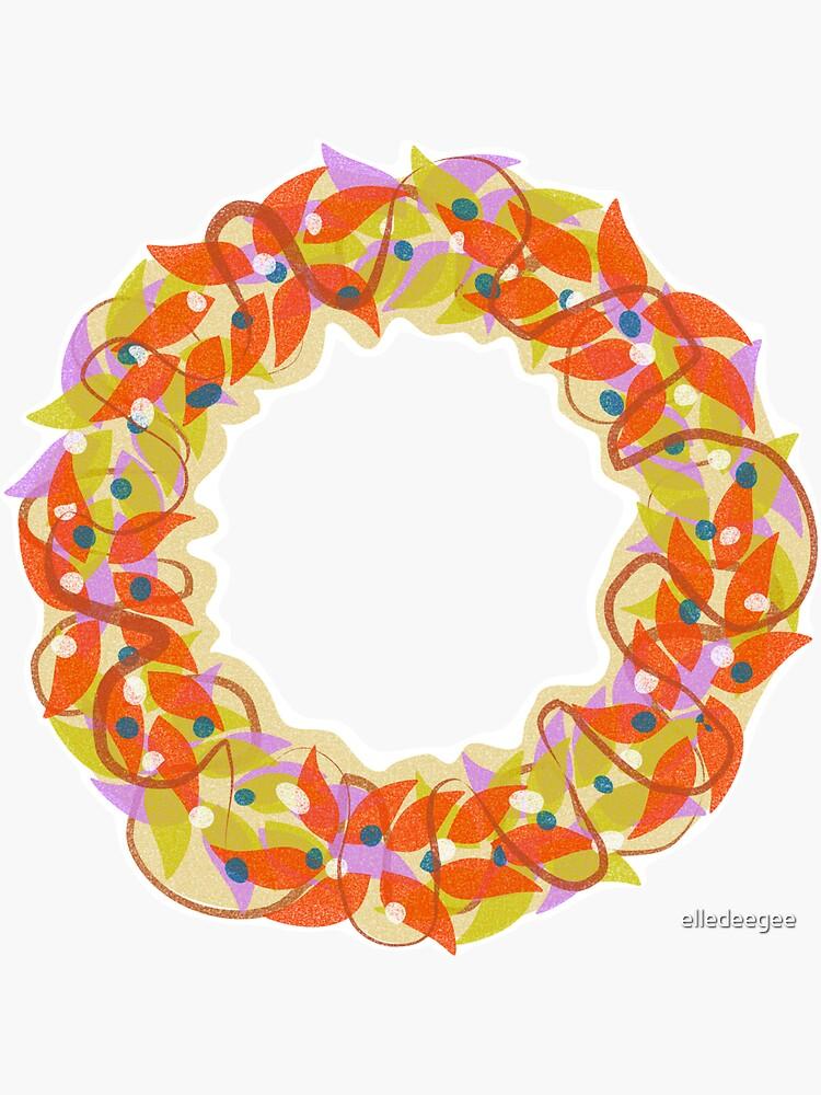 Autumnal Wreath by elledeegee