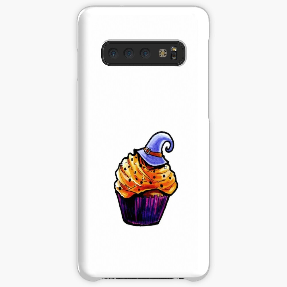 Pumpkin Cupcake Case & Skin for Samsung Galaxy