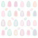 Popsicle-Pastell-Muster von camertone