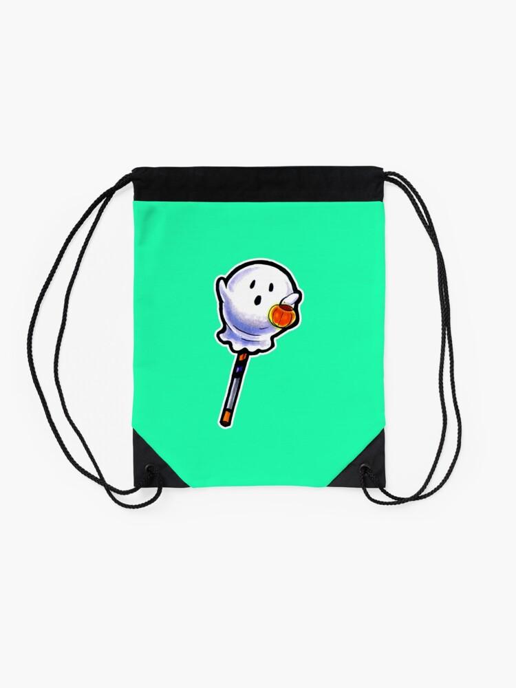 Alternate view of Spooky Pop Drawstring Bag