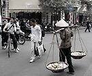 Streets of Hanoi by Betsy  Seeton