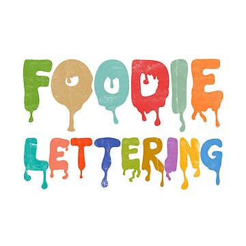 Foodie Lettering by notsniwart