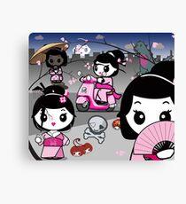 mikoto's Geishas Canvas Print
